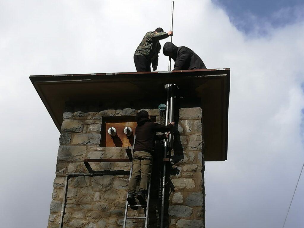 Radioamateri i ratni veterani postavili antene na odašiljaču