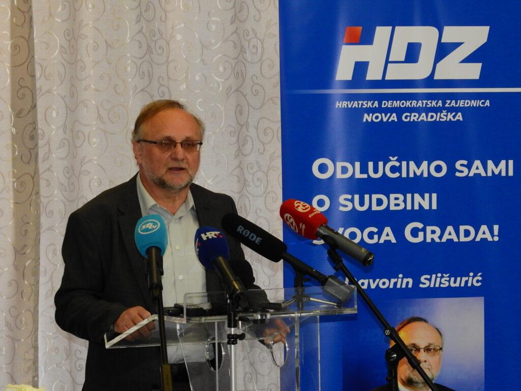 HDZ dao potporu svom kandidatu za gradonačelnika Nove Gradiške