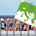 Objavljena nova koronakarta, hrvatska obala i dalje u narančastom: Loše vijesti stižu iz drugih zemalja…