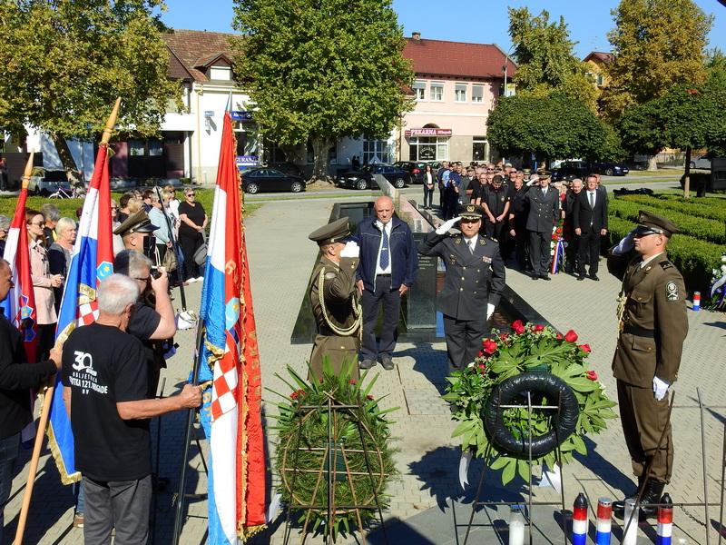 Održana svečanost obilježavanja 30-te obljetnice 121. brigade HV